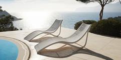 chaise longue - Ibiza - Vondom - mobilier de terrasse