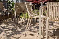 chaise Ibiza - Table Quartz - Vondom - restaurant