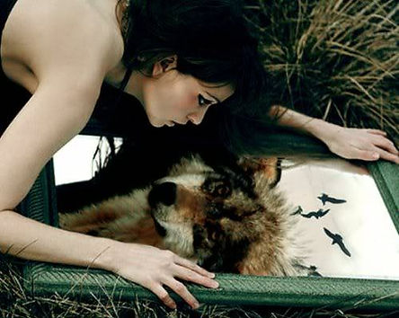 wolf mirror woman.jpg