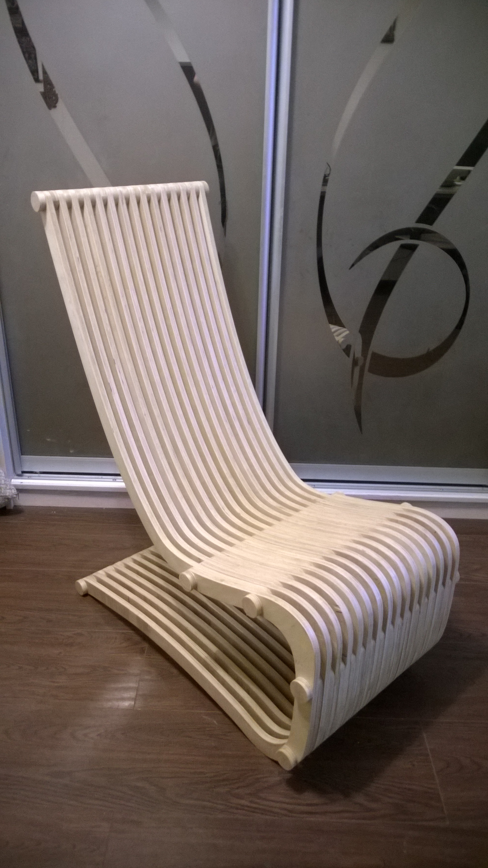 Кресло Шезлонг параметрика