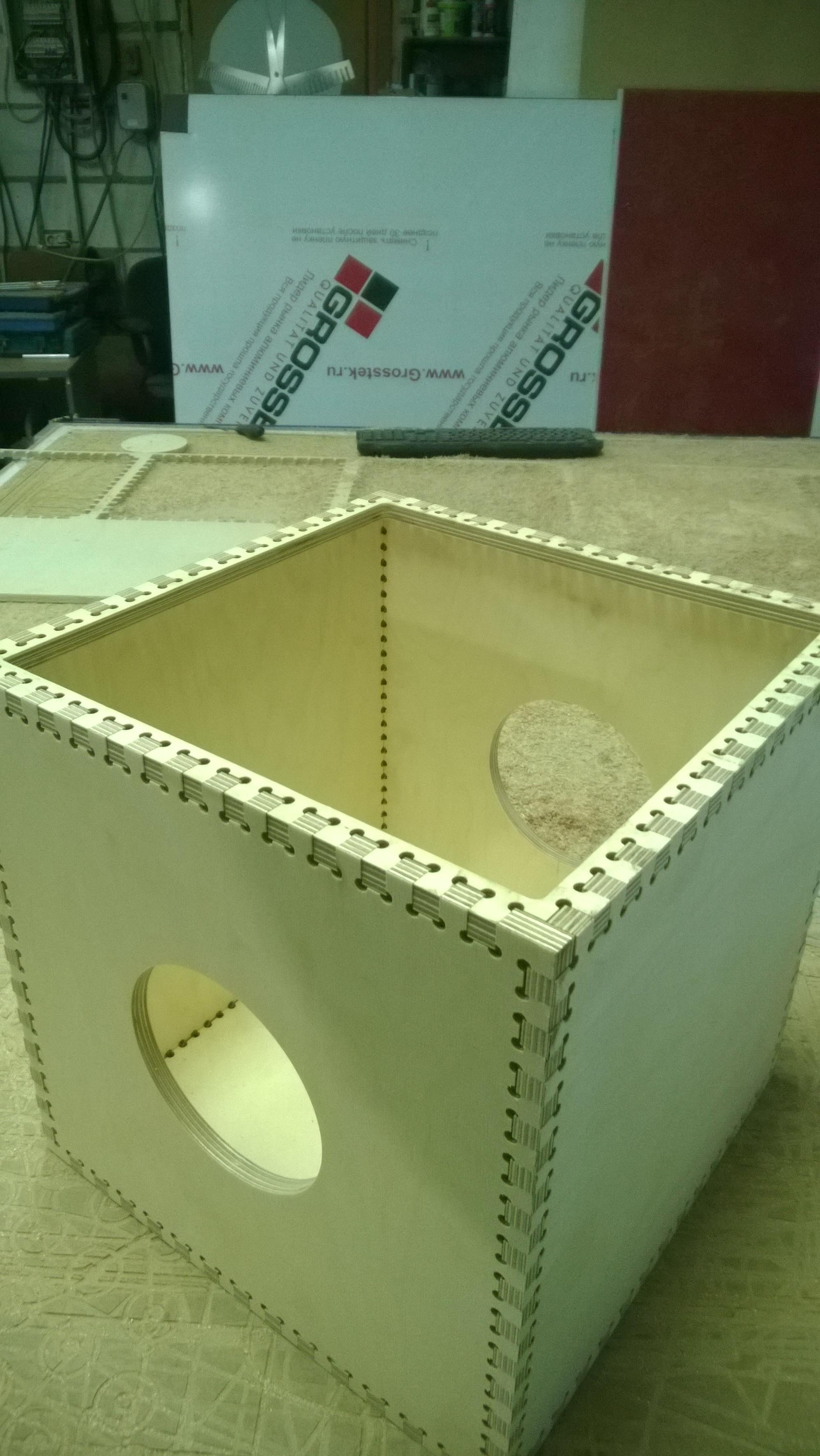 Коробка для санбуфера
