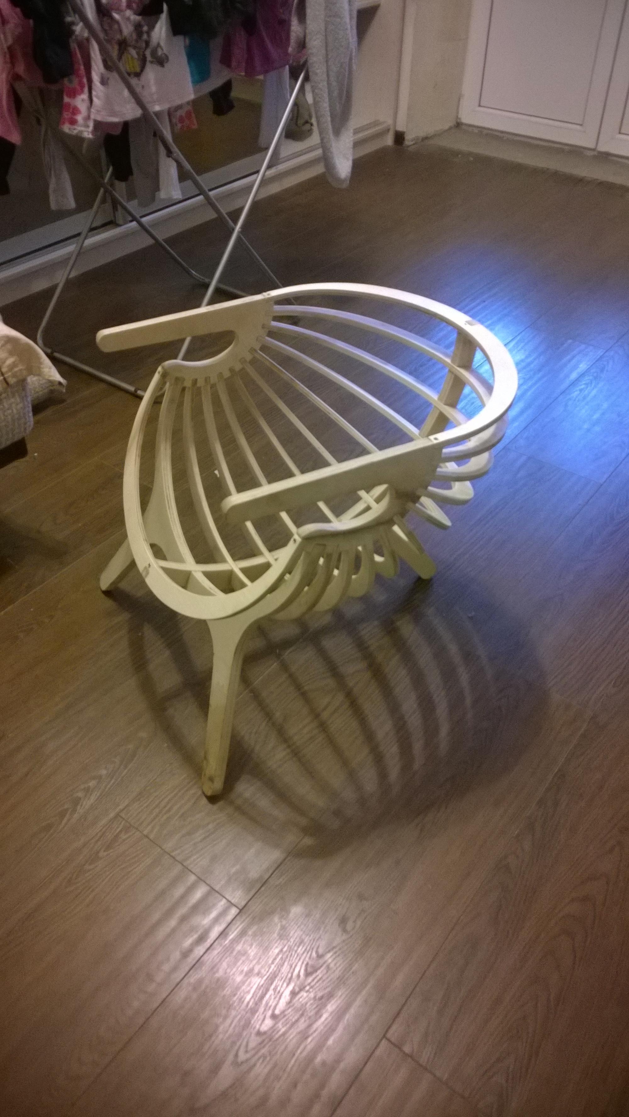 Кресло Ракушка