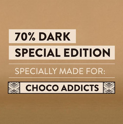 Specially made for choco addicts