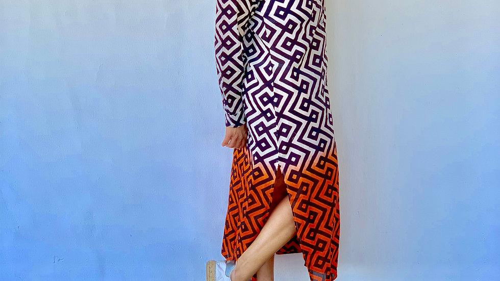 Sommerkleid aus Baumwolle , S,M,L,XL