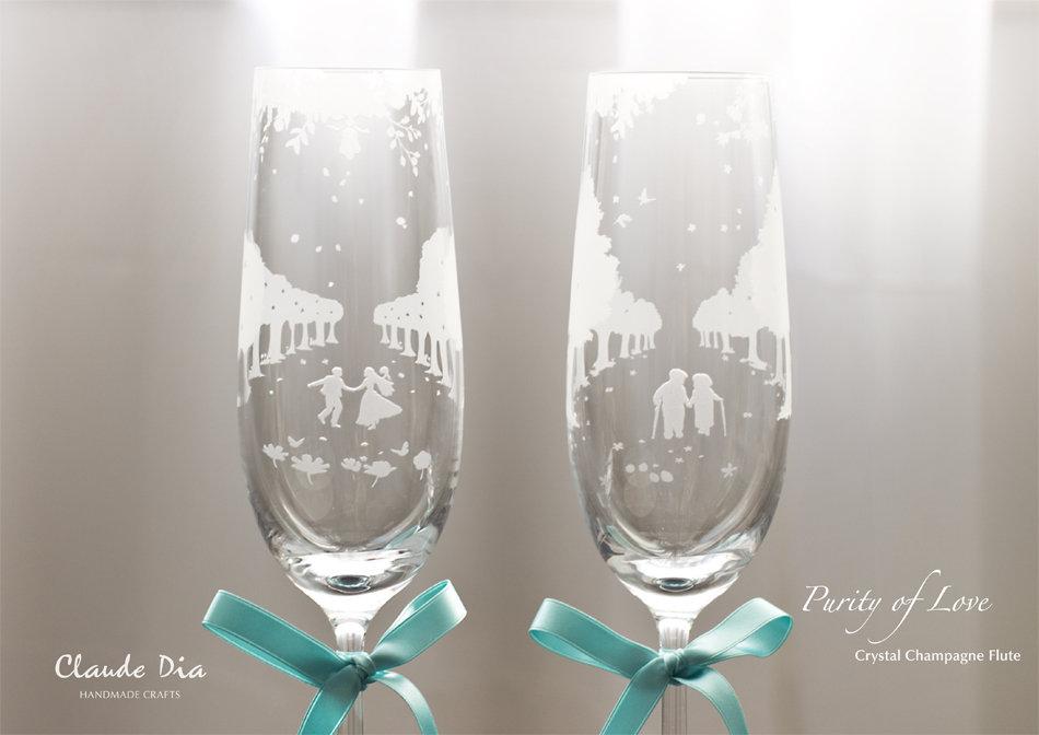 情人節禮物, Valentine's Day, Purity of Love, Champagne Flute, Crystal, Romantic, Anniversary gift, 特別, 心意, DIY, sandblasting, birthday gift, stemware, 玻璃杯, 玻璃精品, 送比女朋友, 女仔鍾意, 金婚, 情人節禮物, 刻字杯, 刻字, 刻名杯, 客製化, 浪漫, 送禮佳品, 結婚禮物, 香檳杯, 水晶玻璃, 高級, 玻璃杯, 磨砂杯