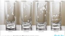 Four Seasons Blossom 水晶直身杯及竹蓋花茶杯推出了!