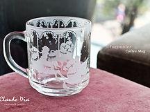 咖啡杯, 玻璃杯, 生日禮物
