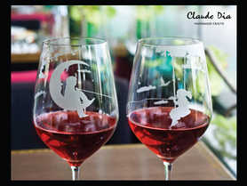 Desterined Pair 水晶紅酒杯