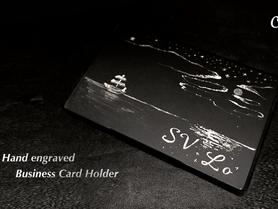 Hand engraving 手繪故事卡片盒 ~售罄~