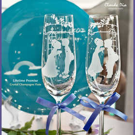 Lifetime Promise 水晶香檳杯 ~HOT~