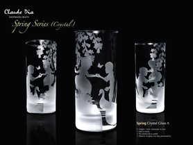 Spring Series水晶直身杯 ~售罄~