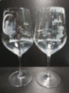Destined Pair, Anniversary gift, sandblasting, stemware, Romantic, Anniversary gift, 特別, 心意, DIY, sandblasting, birthday gift, stemware,週年禮物, 噴砂,,結緍禮物, 水晶紅洒杯, 紅洒杯, gift, wedding, 刻字杯, 客製杯, 刻字, 金婚,  精品, 刻名, 情人節禮物, 送禮, 手工製, Red Wine, Glass, Crystal Glass