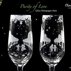 Purity of Love 手工香檳杯