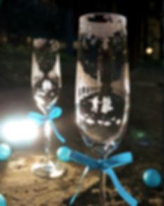 情人節禮物, Valentine's Day, Romantic, Anniversary gift, 特別, 心意, DIY, sandblasting, birthday gift, stemware, 玻璃杯, 玻璃精品, Purity of Love, Crystal  Chapmagne Flutes, Love