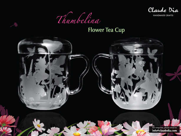 Thumbelina花茶杯