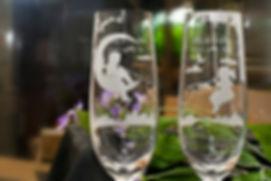 紅線, 月亮, Romantic, Anniversary gift, 特別, 心意, DIY, sandblasting, birthday gift, stemware, 玻璃杯, 玻璃精品, Destined Pair, Crystal Champagne Flute,結緍禮物, 水晶香檳杯, 香檳杯, 玻璃杯, gift, wedding, 刻字杯, 客製杯, 刻字, 金婚,  精品, 刻名, 情人節禮物, 送禮, 手工製, 紅線
