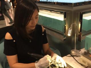 Tiffany 香水機場刻字服務完滿結束