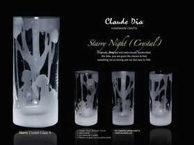 Starry Night水晶直身杯 ~售罄~