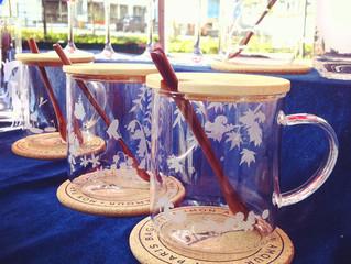 Four Seasons Blossom 竹蓋花茶杯 ~400ml 容量