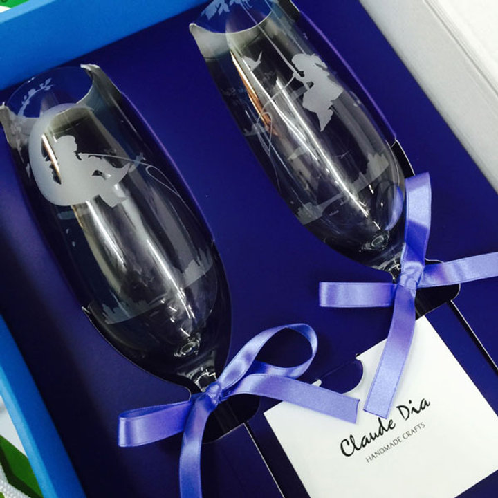 情人節禮物, Valentine's Day,  金婚, 情人節禮物, 刻字杯, 刻字, 刻名杯, 刻名, 客製化, 浪漫, 送禮佳品, 結婚禮物, 香檳杯, 水晶玻璃, 高級, 玻璃杯, 磨砂杯, 結婚
