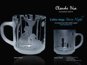 Starry Night 手工咖啡杯