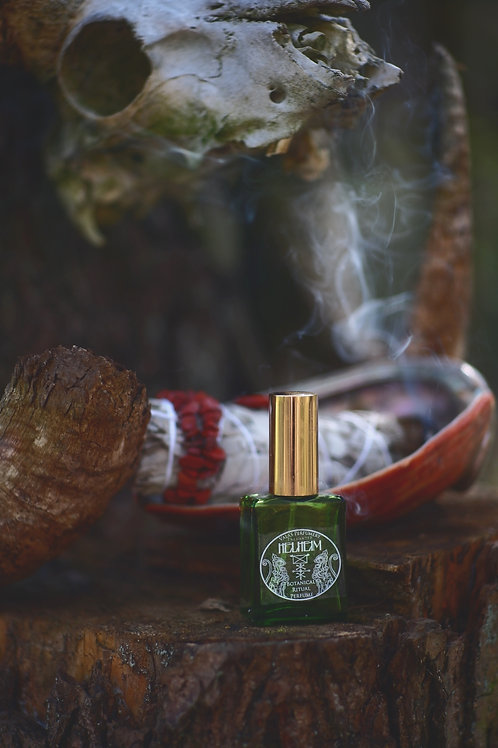 Helheim •  Combination of amber and frankincense with herbal top note