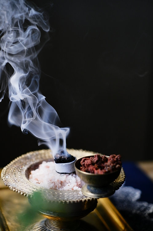 DIVINITY • Altar blessing incense • Universal Kyphi type blend