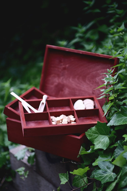 Basic Travel Altar or Perfume Chest • Herbal cabinet • Crystal or
