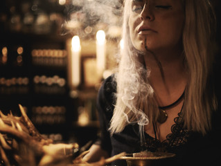 How to get started with incense, smoke cleansing and burning or herbs