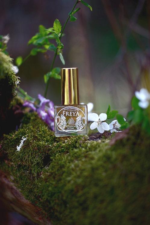 Freya • A fresh feminine floral scent, jasmine, lotus, incense and resin