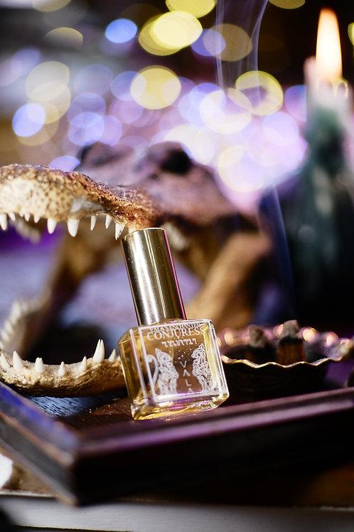 Conjuress • Sweet, earthy scent of vanilla, euphorbia, tobacco, cinnamon