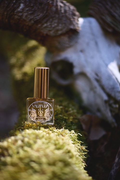 Valhalla - Natural Perfume - Notes of honey, mead, beeswax, incense