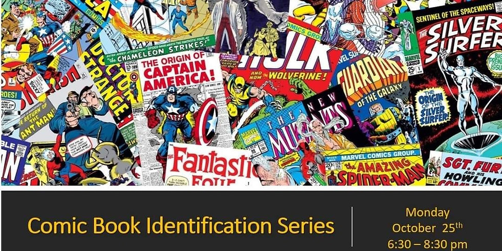 Education Series - FREE Comic Book Identification
