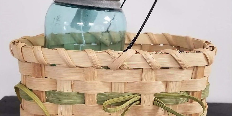 Footed Bow Basket