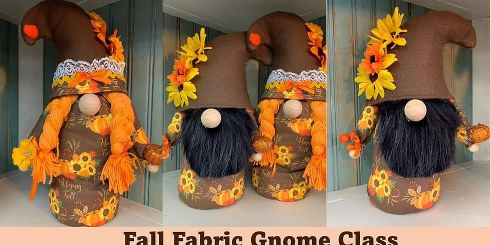 Fall Fabric Gnomes