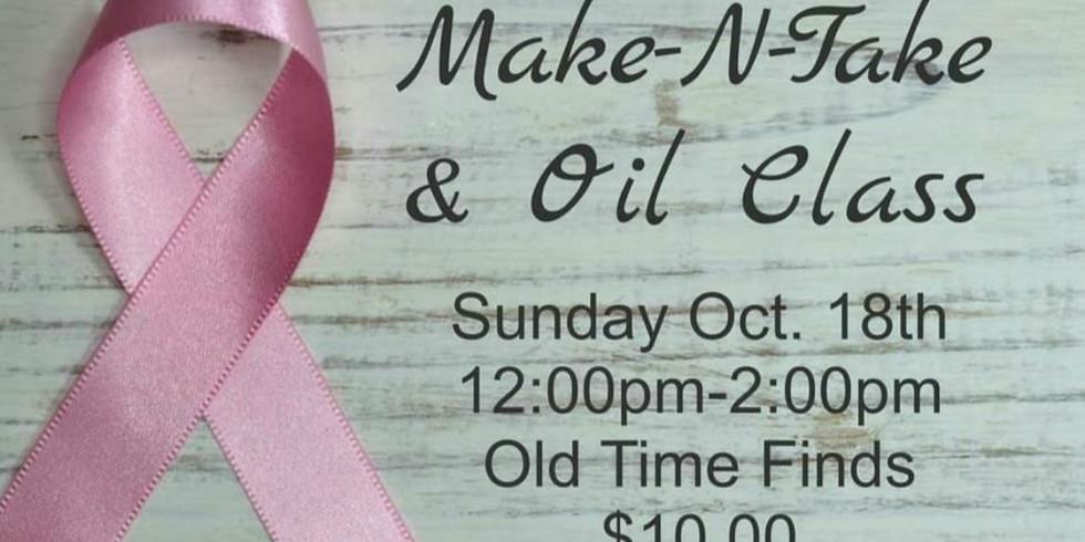 Breast Health Make-N-Take Oil Class