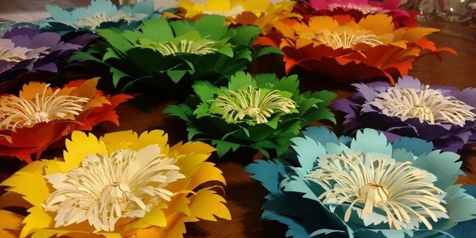 Paper Flower Workshop with Elegant Swan Creations