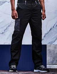 Contrast cargo trouser