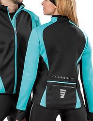 Softshell biking jacket