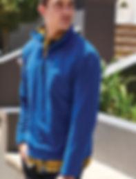 Zip-neck fleece