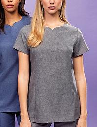 Linen look tunic