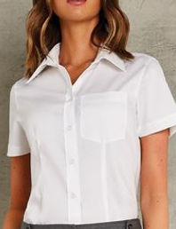 Short sleeved Oxford