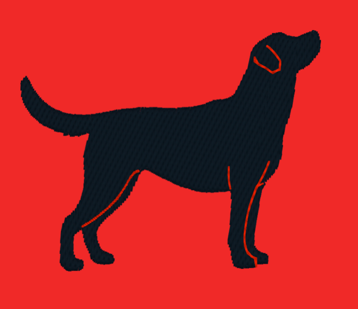 Labrador Embroidery