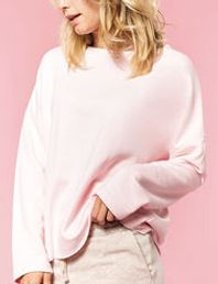 Women's soft oversized sweatshirt