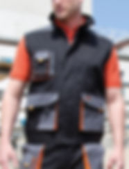 Men's workwear gilet