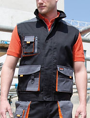 Men's workwear gilet