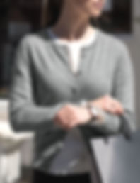 Women's buttoned cardigan