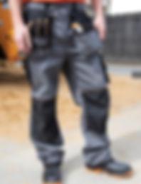Work holster trouser