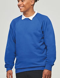 Schoolraglan sweatshirt