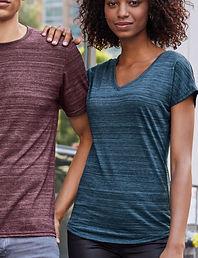 Women's tonal streak t-shirt